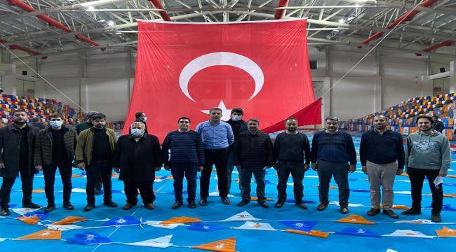 Merkez İlçe Başkanı Alkayış'tan AK Parti 7. Olağan İl Kongresine davet