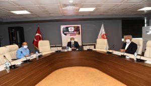 Mermer İhtisas OSB Toplantısı Vali Çuhadar başkanlığında yapıldı