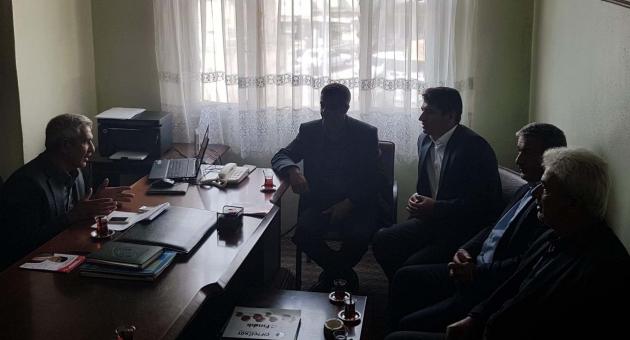 MHP Adayı Yaylagül'den STK ve Kurumlara Ziyaret