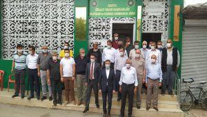 Milletvekili Aydın'dan Kahta Ziraat Odasına ziyaret