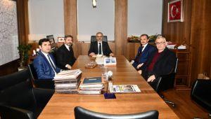 Milletvekili Aydın ve Başkan Kılınç, Karayolları Genel Müdürüyle Görüştü