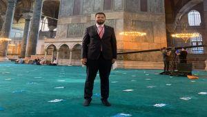 Milletvekili Toprak: Ayasofya Camii Ülkemize, İslam alemine ve milletimize hayırlı olsun
