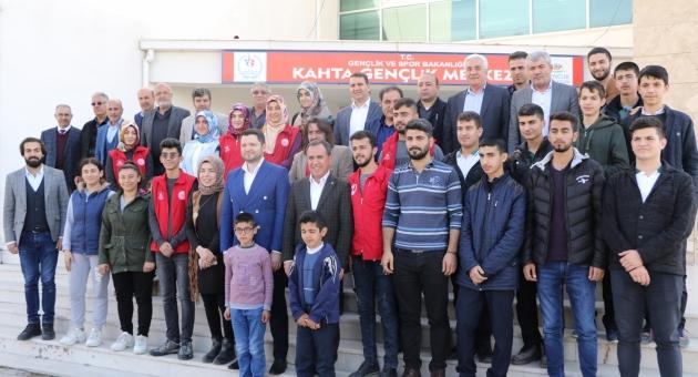 """Milletvekili Toprak:""""En Büyük Güvencemiz Gençlerdir"""""""
