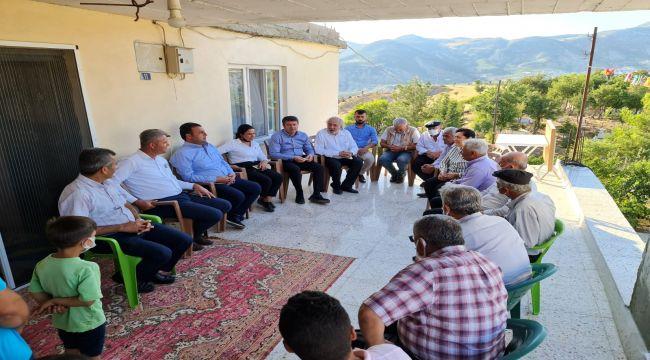 Milletvekili Tutdere : Köyde yaşayan yurttaşlarımız adeta bir bilinmeze teslim edilmiş durumda