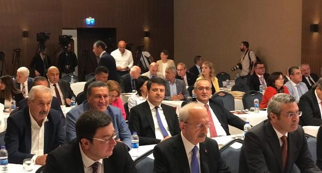 Milletvekili Tutdere, Sivas'ta Parti Meclisi Toplantısına Katıldı