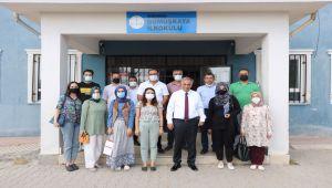 Milli Eğitim Müdürü Gönen'den köy okullarına ziyaret