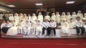 Miniklere Kur'an'ı Kerim'e Geçiş Programı Yapıldı