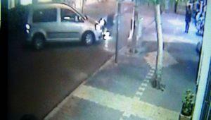 Motosikletin Kaza Anı Güvenlik Kamerasına Yansıdı - Videolu Haber