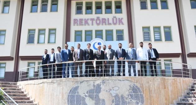 MTTB Genel Başkanı Karayel'den Rektör Turgut'a Ziyaret