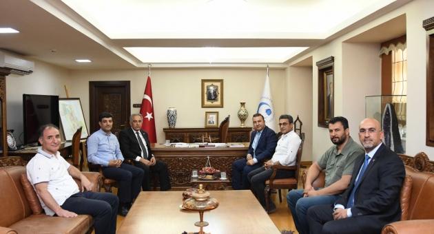 Muhasebeciler Odasından Rektör Turgut'a Ziyaret