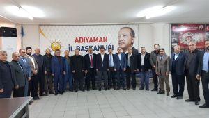 Muhtarlardan AK Parti'ye Destek Ziyareti