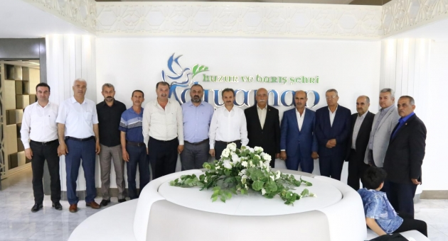 Muhtarlardan Başkan Kılınç'a Ziyaret