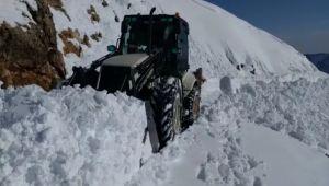 Nemrut Dağı'nda Yol Açma Çalışmaları Devam Ediyor - Videolu Haber