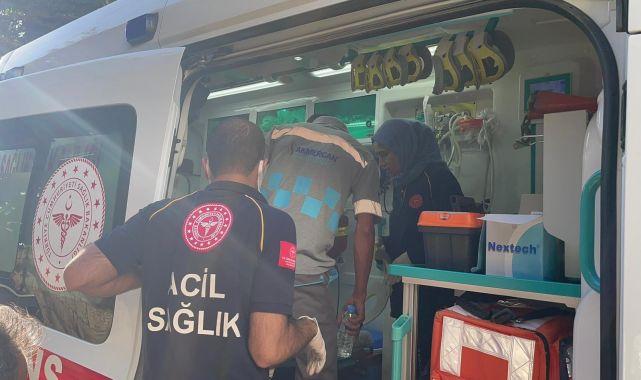 Otomobil ile çarpışan motosiklet sürücüsü yaralandı - Videolu Haber