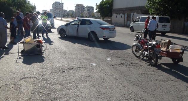 Otomobil ile Motosiklet Çarpıştı: 1'i Ağır 3 Yaralı - Videolu Haber