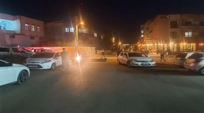 Otomobil İle Motosiklet Çarpıştı:1 Yaralı