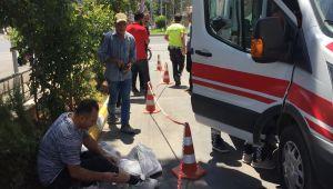 Otomobil İle Motosiklet Çarpıştı: 2 Yaralı - Videolu Haber