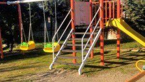 Oyun Parkı Kurulan Depremzede Çocuklar, Doyasıya Eğlendi