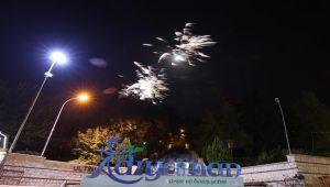 Pandemi kurallarına uygun Cumhuriyet Bayramı kutlaması