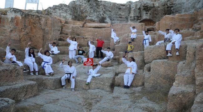 Perre Antik Kenti'nde 'Amatör Spor Haftası' törenle kutlandı