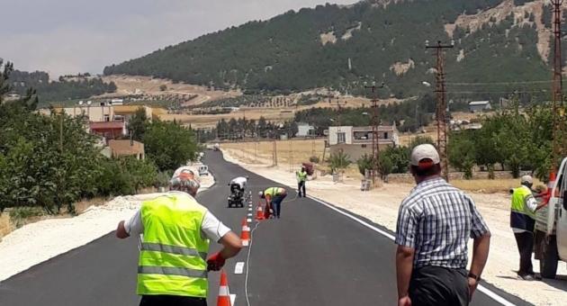 Petrol Caddesi'nde Asfaltı Tamamlanan Kısım Trafiğe Açıldı