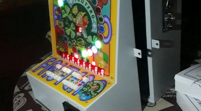 Polis Ekiplerinden Kafe Ve Kıraathaneler Oyun Makinesi Operasyonu