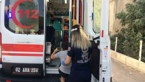 Prize parmağını sokan çocuk elektrik akımına kapılarak yaralandı - Videolu Haber