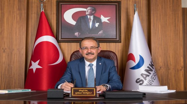 Rektör Dağlı'dan 23 Nisan Ulusal Egemenlik ve Çocuk Bayramı mesajı