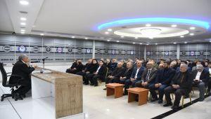 Rektör Turgut Eğitimciler Birliği Sendikası'nın Konuğu Oldu