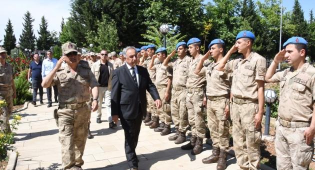 Rektör Turgut Jandarma Teşkilatı'nın 180. Kuruluş Yıldönümün Kutladı