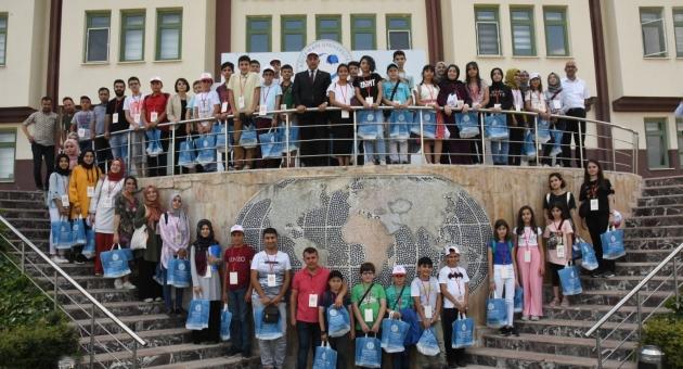 Rektör Turgut, Öğrencilerle Buluştu