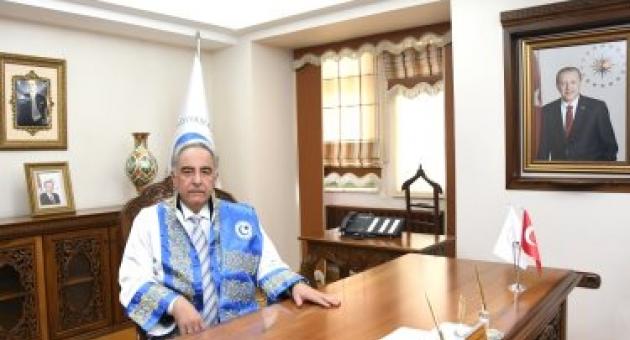 Rektör Turgut'tan Şehit Yanık İçin Başsağlığı Mesajı