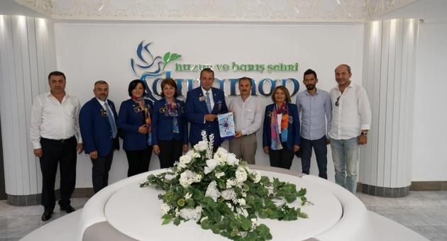 Rotaryenlerden, Başkan Kılınç'a Ziyaret
