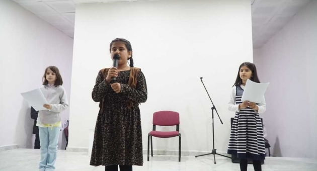 Ş.Özer Salik İlkokulu Öğrencilerinden Şiir Dinletisi