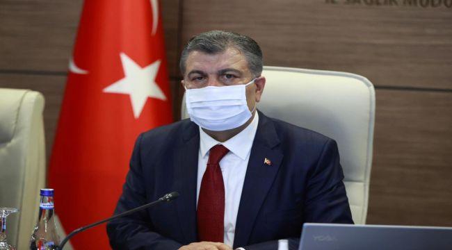 Sağlık Bakanı Koca, vaka sayılarının azaldığı illeri açıkladı