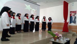 Samsat'ta İstiklal Marşı'nın Kabulünün 99. Yılı Kutlandı