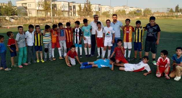 Samsat'ta Kuran Kursu Öğrencileri Arasında Futbol Turnuvası