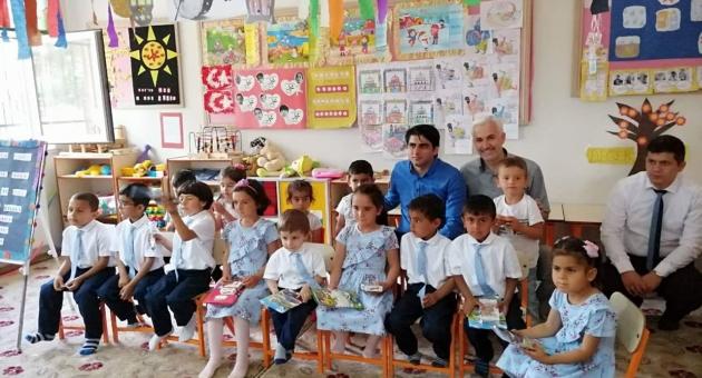 Samsat'ta Minik Kuran Kursu Öğrencilerine Mezuniyet Programı
