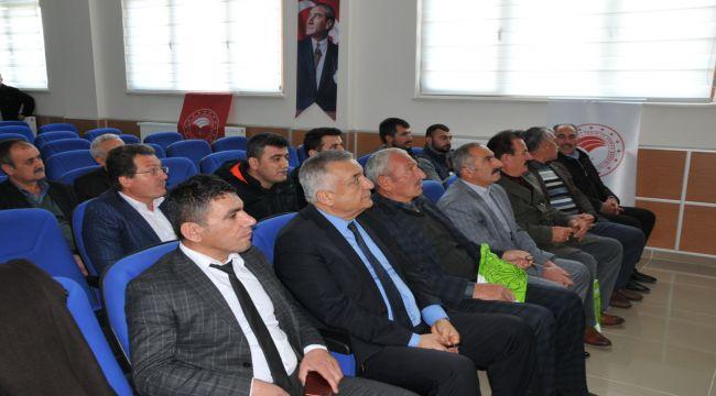 Samsat'ta Tarsim Toplantısı Yapıldı