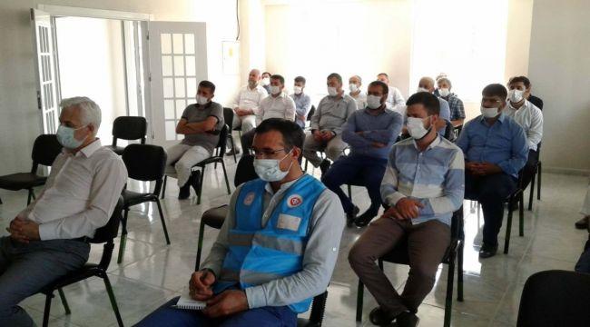 Samsat'ta vekalet yoluyla kurban kesim programı