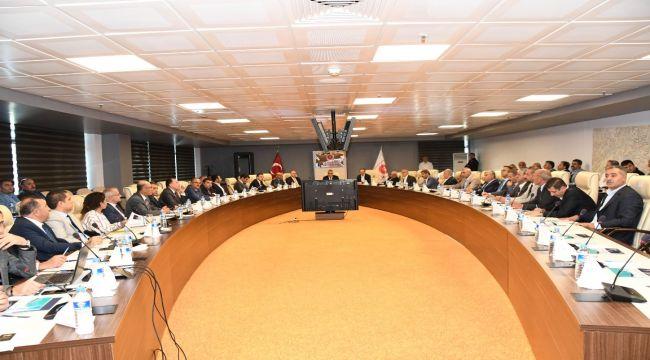 Sanayi ve Ekonomi Platformu Vali Pekmez Başkanlığında Toplandı