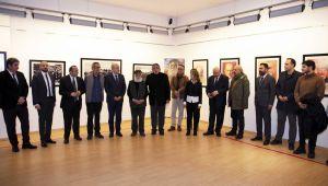 """SANKO Sanat Galerisi'nde """"Atatürk Portreleri"""" Sergisi Açıldı"""