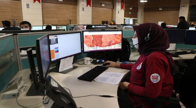 Şanlıurfa 112 Acil Çağrı Merkezi, 5 milyon 225 bin 874 çağrı cevapladı - Videolu Haber