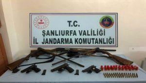 Şanlıurfa'da Silah Kaçakçılığı Operasyonu: 4 Gözaltı