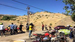Savran yaylasında Motocross ekibi gösteri yaptı