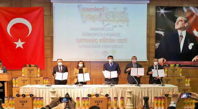 Şehitkamil'de 2021 satranç yılı ilan edildi - Videolu Haber