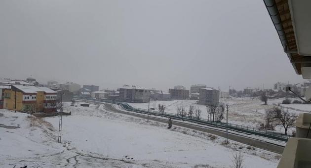 Sincik'te Eğitime Kar Tatili