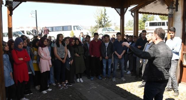 Sincikli Öğrencilerden Adıyaman Üniversitesini Ziyaret