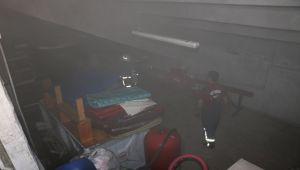 Spor salonunda çıkan yangın paniğe neden oldu - Videolu Haber