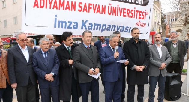 STK Temsilcileri, Üniversitenin İsminin 'Safvan' Olmasını İstiyor - Videolu Haber